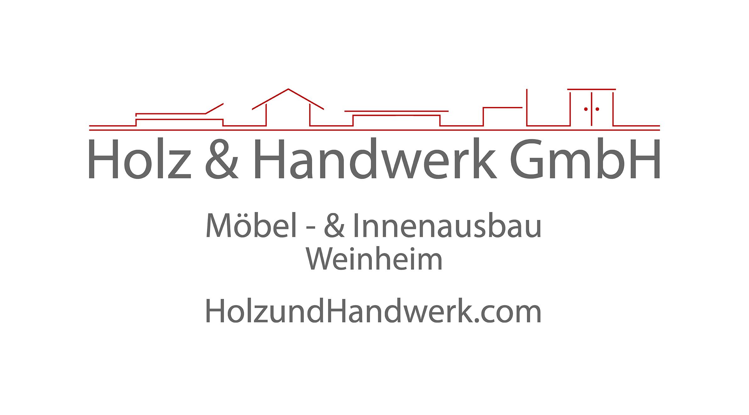 Holz und Handwerk dunkel Logo